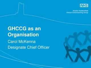 GHCCG as an Organisation