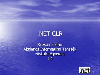 .NET CLR