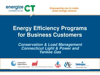 Energy Efficiency Programs for Business Customers