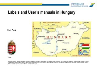 Labels and User's manuals in Hungary