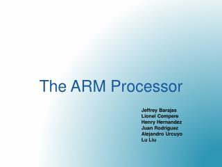 The ARM Processor
