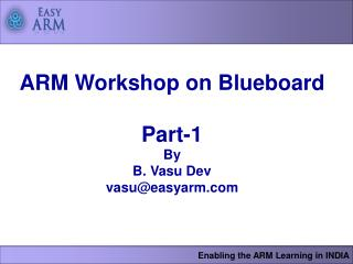 Enabling the ARM Learning in INDIA