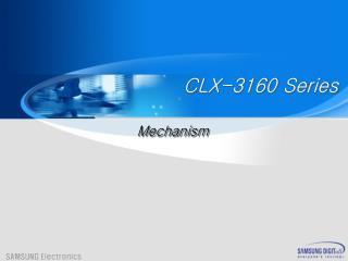 CLX-3160 Series