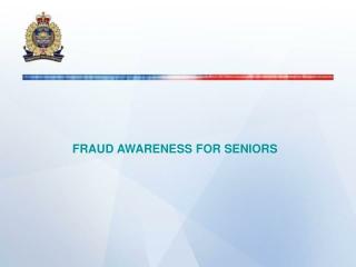 Fraudulent Phone Pitches Target Seniors