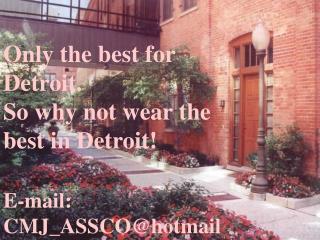E-mail:  CMJ_ASSCO@hotmail