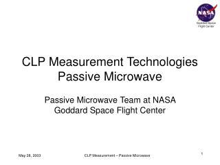 CLP Measurement Technologies Passive Microwave