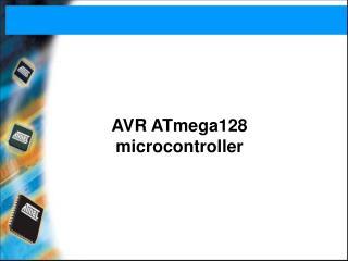 AVR ATmega128  microcontroller