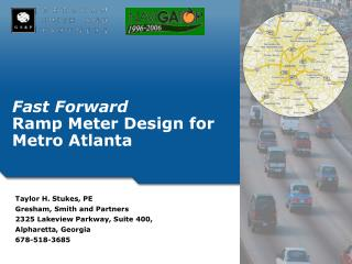 Fast Forward Ramp Meter Design for Metro Atlanta