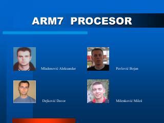 ARM7  PROCESOR
