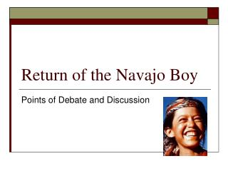 Return of the Navajo Boy