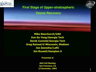 First Stage of Upper-stratospheric  Ozone Recovery