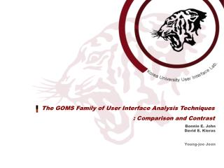 The GOMS Family of User Interface Analysis Techniques : Comparison and Contrast