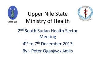 Upper Nile State Ministry of Health