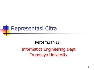 Representasi Citra