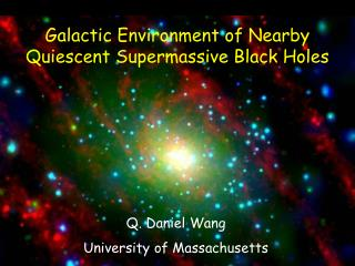 Galactic Environment of Nearby Quiescent Supermassive Black Holes