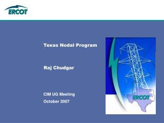 Texas Nodal Program