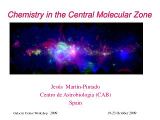 Chemistry in the Central Molecular Zone