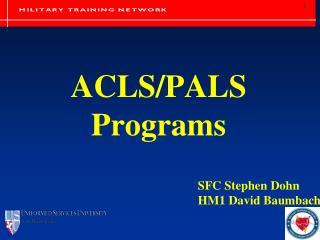 ACLS/PALS Programs