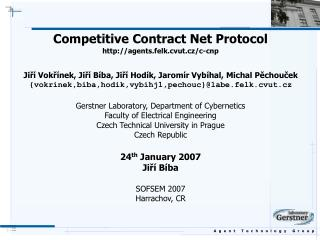 Competitive Contract Net Protocol agents.felk.cvut.cz/c-cnp