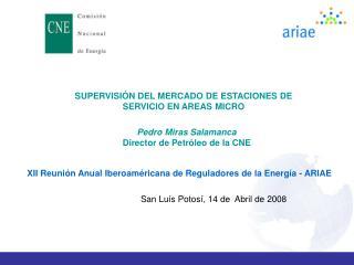 SUPERVISIÓN DEL MERCADO DE ESTACIONES DE SERVICIO EN AREAS MICRO