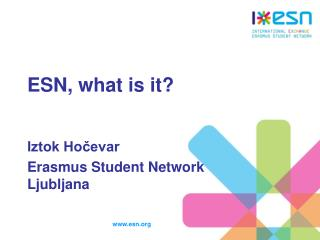 ESN, what is it?