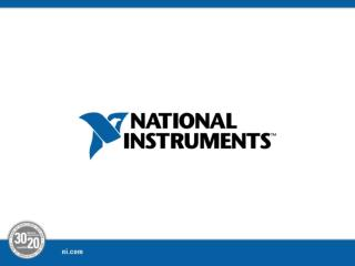 National Instruments FRC Robot Modeling Toolkit