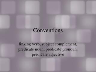 A Pronoun as a  Predicate Noun