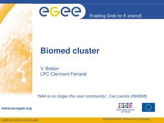 Biomed cluster