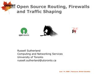 Open Source Routing, Firewalls and Traffic Shaping