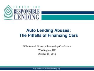 Auto Lending Abuses: The Pitfalls of Financing Cars