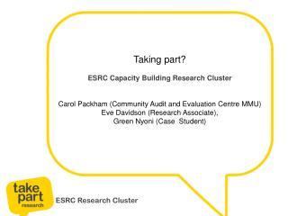 ESRC Research Cluster