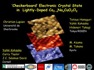 'Checkerboard' Electronic Crystal State  in  Lightly-Doped Ca 2- x Na x CuO 2 Cl 2