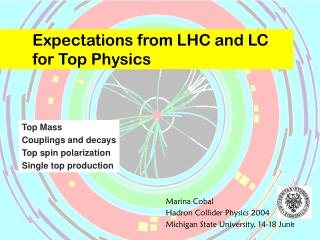 Expectations from LHC and LC  for Top Physics