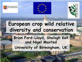 European crop wild relative diversity and conservation