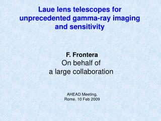 Laue lens telescopes for unprecedented gamma-ray imaging and sensitivity