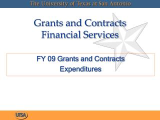 Grants and Contracts Financial Services