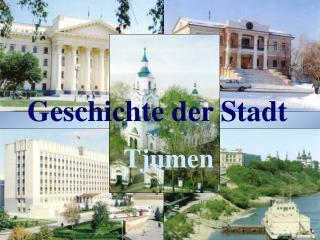 Geschichte der Stadt