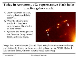 Today in Astronomy 102: supermassive black holes in active galaxy nuclei