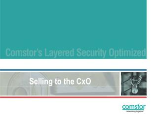 Selling to the CxO - Introduction