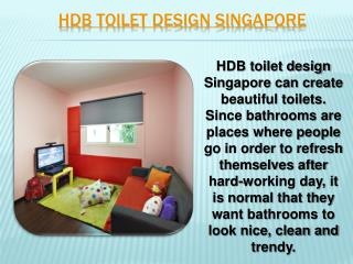 Singapore Bathroom Renovation