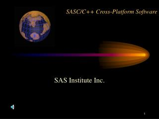 SASC/C++ Cross-Platform Software