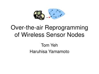 Over-the-air Reprogramming of Wireless Sensor Nodes