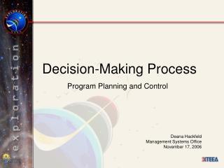 Decision-Making Process