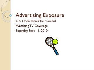 Advertising Exposure