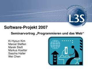 Software-Projekt 2007