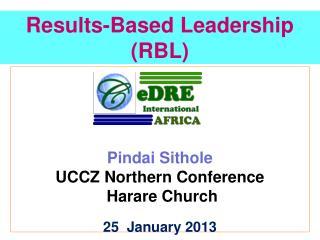 Results-Based Leadership (RBL)