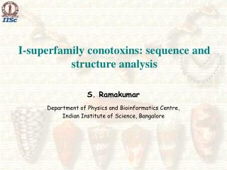I-superfamily conotoxins: sequence and structure analysis