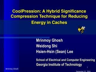 CoolPression: A Hybrid Significance Compression Technique for Reducing Energy in Caches