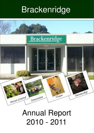 Annual Report 2010 - 2011