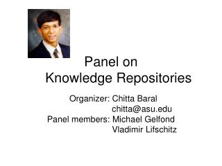Panel on      Knowledge Repositories